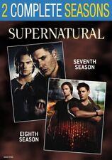Supernatural: Seasons 7 & 8 (DVD,2017)