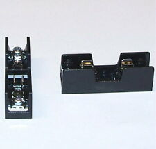 = SAFETY = INSULATED = fuse holder 3AG PC mount EZ screw terminals - 2 pcs lot