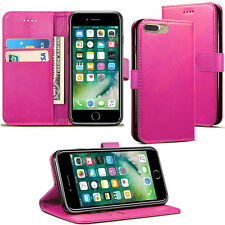 For Apple iPhone 7 Plus /8 Plus /XR /XS Max Leather Flip Wallet Phone Case Cover