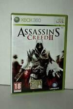 ASSASSIN'S CREED II GIOCO USATO BUONO STATO XBOX 360 EDIZIONE ITALIANA ML3 44989