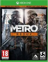 Metro: Redux (Xbox One Game) *VERY GOOD CONDITION*