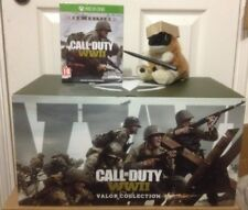CALL OF DUTY WW2 PRO VALOR COLLECTION STATUE collectors EDITION On XBOX ONE X