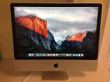 "Apple Imac 24"" Desktop 3,06 GHz early 2008"