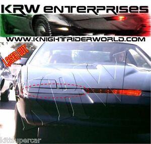1982 PONTIAC FIREBIRD KNIGHT RIDER KITT K2000 PILOT BUMPER TURN LIGHT BLACKOUTS