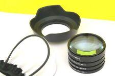 Macro Close up Lenses Lens Kit for SONY SLT-A77,SLT-A65,SLT-A65VM,SLT-A57