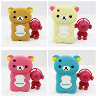 3D BEAR SOFT RUBBER SILICONE PHONE CASE COVER FOR APPLE IPHONE 3 3GS