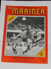 Grimsby Town -v- Coventry City 1983-1984