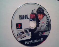 DVD NHL06 NHL `06 PlayStation2 PlayStation Sony