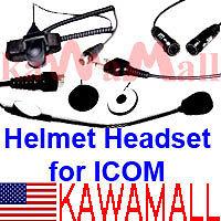 Full-face Helmet Headset for Icom/Stardard/Cobra Radio