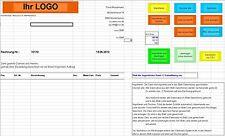 Ebay Auktionstool auf Excel-Basis, integr. Rechungen  - aus Ebay - CSV Datei