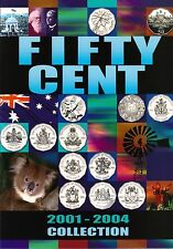 The 2001 to 2004 Australian 50c Coin Collection - Limited Edition