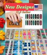 Color Nail Polish Strips Buy 4 Get 3 Free U.S Seller Ombre Fall Halloween Solid