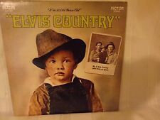 ELVIS RECORD - ELVIS COUNTRY - RCA VICTOR - LSP-4460 - 1971