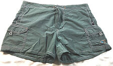 Angels green shorts, size 7