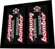 MARZOCCHI Bomber Monster Triple 1999 Sticker / Decal Set