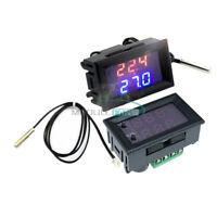 DC 12V W1209WK thermostat Temperature Control Sensor NTC10K 1% 3950 Probe Cable