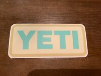 NEW Authentic YETI Sticker Decal, Vinyl, Free Shipping!!!