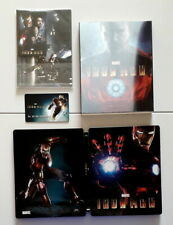 IRON MAN : BLU-RAY 4K ULTRA HD ET BLU-RAY BONUS - STEELBOOK KIMCHI