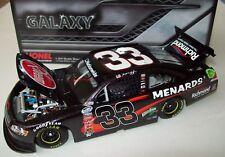 Brendan Gaughan 2012 Rheem Menards #33 Galaxy Finish RCR 1/24 NASCAR Rare 1of 72