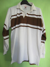 Maillot Rugby HALBRO Made in England manche Longue Vintage Jersey Acrylic - L