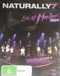 Naturally 7 DVD Live at Montreux 2007 - Music Band Concert