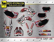 Honda CRf250X CRf 250X  2004 up to 2015 graphics decals kit  Moto-StyleMX