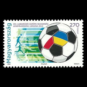 Hungary 2012 - European Football Championship Soccer Sports - Sc 4245 MNH