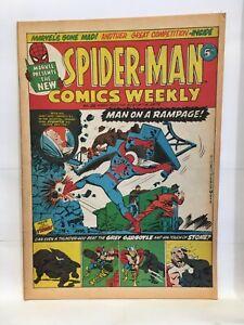 Spider-Man Comics Weekly No. 26 Marvel Comics Group UK Magazine 1973