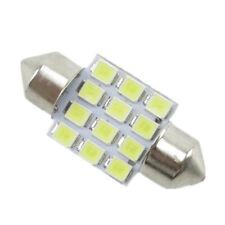 2pcs White 31mm 12 LED SMD Festoon Dome Car Bulb 3021 3022 DE3175 Light Lamp