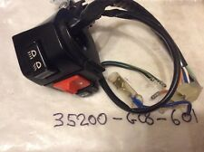 HONDA  NH50 NH80 LEAD Left Hand Indicator SWITCH ASSY.,WINK 35200-GC8-601