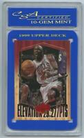 1999 Upper Deck Athlete of Century Michael Jordan Elevation CSA 10 #EL16