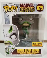 Funko POP! Marvel Zombies: Zombie Silver Surfer #675 *Hot Topic Exclusive*