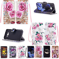 Flip Leather Wallet Soft Phone Case Cover For Samsung S9 S8 S7 S6 iPhone 7 6 5S