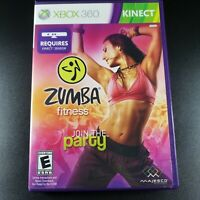 Zumba Fitness Xbox 360 Kinect Microsoft Game Studios Majesco Join The Party