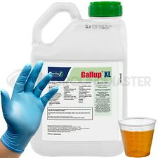 5L Gallup XL Very Strong Glyphosate Weedkiller Weeds Roots + Free Cup & Gloves