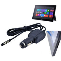 Black 12V 2A In Car Charger Power Adapter For Microsoft Surface RT Tablet PC