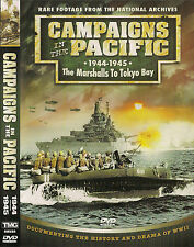 Campaigns in the Pacific 1944-45 (DVD, 2006) WWII:Marshalls, Phillipines, Palau