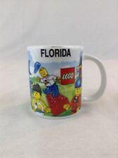 Lego Orlando Florida Minifigures Ceramic Coffee Cup Mug Bricks Building Toy