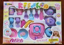 Kids Children Kitchen Collection Cooking Play Set Toys (16-Piece)