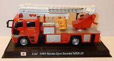 DEL PRADO CAMION POMPIERS 1995 MORITA GYRO SNORKEL MSB-20 1/64 3 INCHES