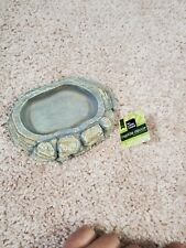 All Living Things Reptile Decor Foot Bowl For Food And Water New