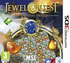 Jewel Quest -The Sapphire Dragon (Nintendo 3DS) - Game  64VG The Cheap Fast Free