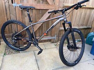 Orange Clockwork 120S Hardtail 27.5 Mountain Bike - w/ Nukeproof pedals