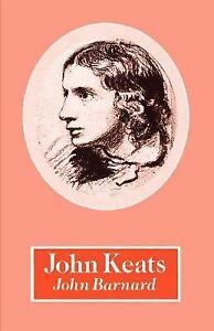 John Keats, Barnard, John, New Book