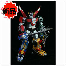 New FJ TOY Golion Lion Force Voltron Green Black Blue lion Action Figure Set