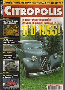 CITROPOLIS 60 CITROEN TRACTION 11 D 1955 DS à 3 ROUES COACH C4 G VANDEN PLAS
