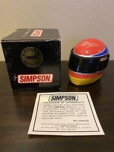 Buzz Calkins Signature Edition Simpson Indycar Mini Helmet 1/4 Indy 500