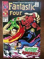 Fantastic Four #63 (1967) Blastaar! The Sandman! Triton! Jack Kirby Pencils!