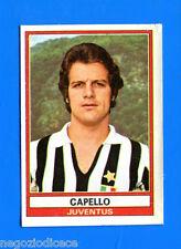 CALCIATORI 1973-74 Panini - Figurina-Sticker n. 168 - CAPELLO - JUVENTUS -Rec