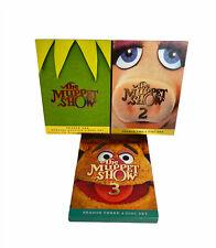 The Muppet Show - First Second Third Season 1 2 3 DVD Box Set Lot - Seasons 1-3